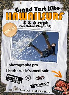 creakitem Test Hawaiisurf 5 & 6 Septembre